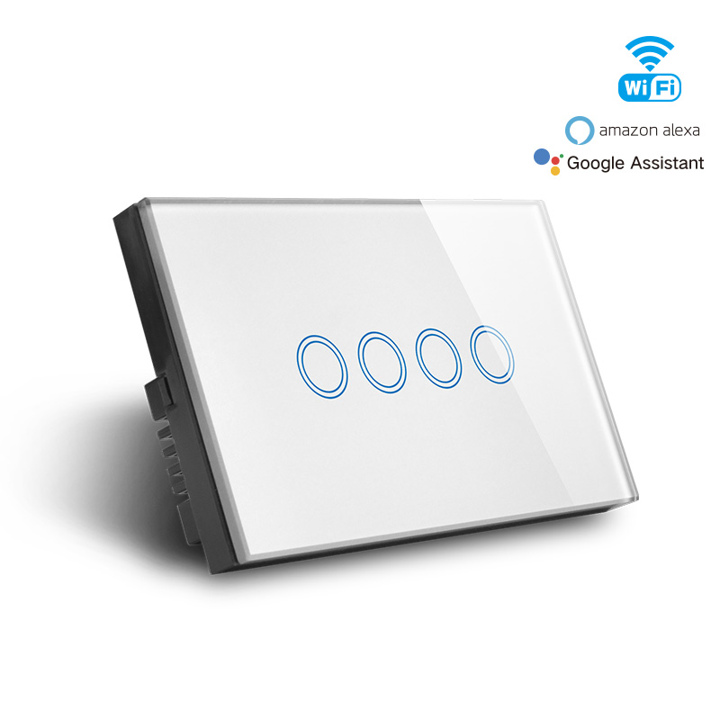 Smart Wifi 4 Gang Switch