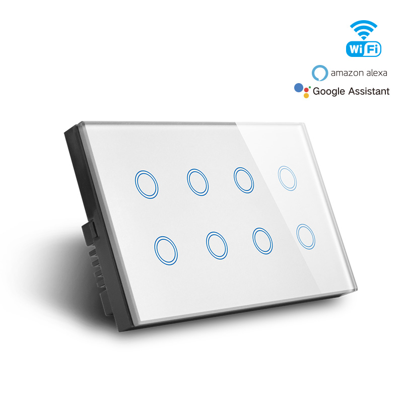 Smart Wifi 8 Gang Switch